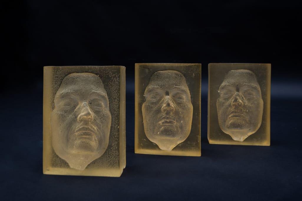 kunst - Ingrid Slaa - beeld - gezicht - epoxy