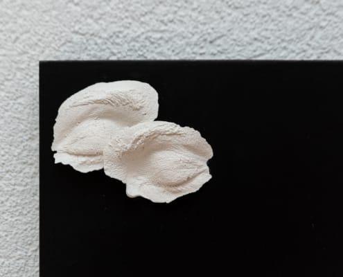 kunst - Ingrid Slaa - beeld - ogen - gips