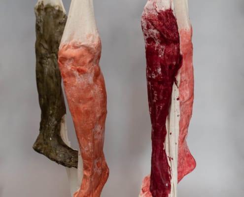 kunst - Ingrid Slaa - beeld - been - wax