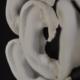 kunst - Ingrid Slaa - beeld - oren - gips